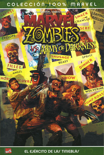 MARVEL ZOMBIES VS EL EJERCITO DE LAS TINIEBLAS (ARMY OF DARKNESS)