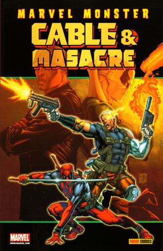 MARVEL MONSTER: CABLE & MASACRE # 2