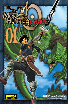 MONSTER HUNTER ORAGE # 1