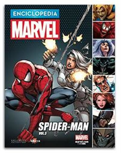 ENCICLOPEDIA MARVEL COLECCIONABLE #21. SPIDERMAN VOL. 3