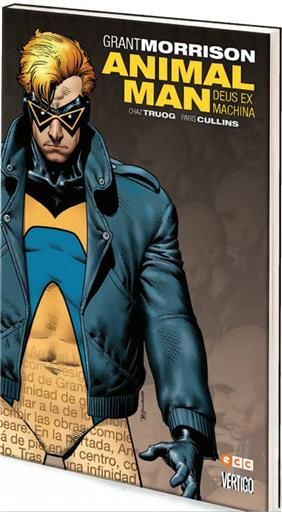 ANIMAL MAN DE GRANT MORRISON #03. DEUS EX MACHINA