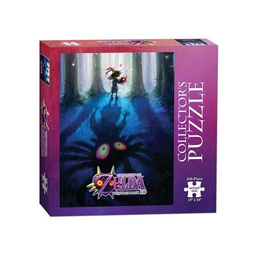THE LEGEND OF ZELDA PUZZLE MAJORA´S MASK MONSTER HUNTER COLLECTOR´S