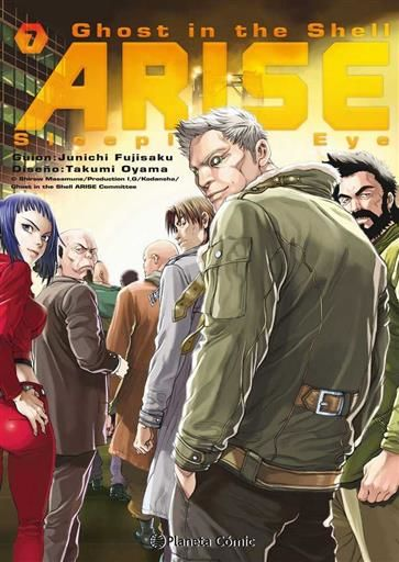 GHOST IN THE SHELL ARISE # 07