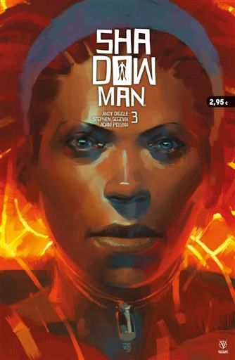 SHADOWMAN #03 (GRAPA - MEDUSA COMICS)