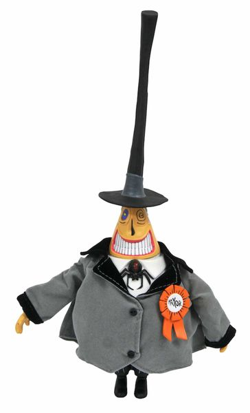 THE MAYOR FIGURA 25 CM ACTION FIGURE NIGHTMARE BEFORE CHRISTMAS SILVER ANNIVERSA