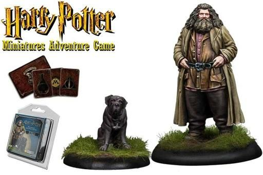 HARRY POTTER MINIATURES ADVENTURE GAME: RUBEUS HAGRID & FANG