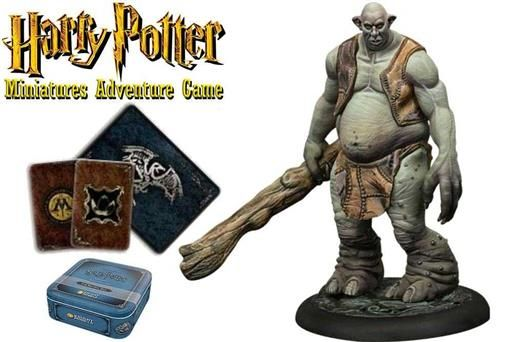 HARRY POTTER MINIATURES ADVENTURE GAME: TROLL