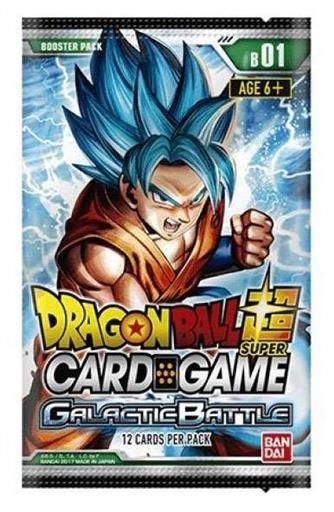 DRAGON BALL TCG SEASON 1 GALACTIC BATTLE SOBRE INGLES