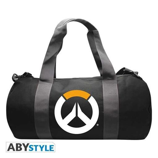 OVERWATCH BOLSA DEPORTE LOGO GREY/BLACK