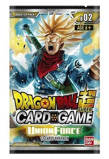 DRAGON BALL TCG SEASON 2 UNION FORCE SOBRE