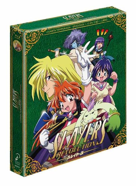 BD SLAYERS REVOLUTION BLURAY COLECCIONISTA