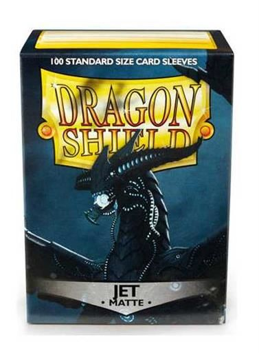 FUNDAS CARTAS DRAGON SHIELD ESTANDAR MATTE-JET (100)