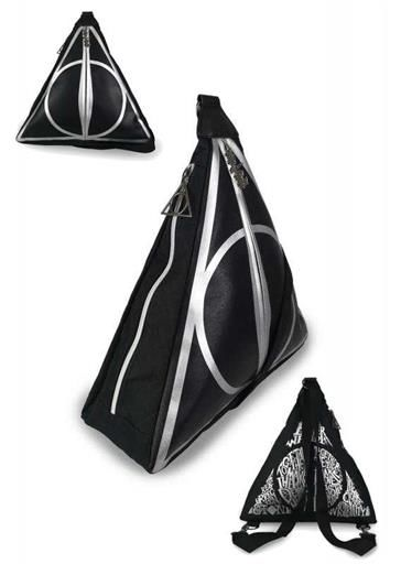 HARRY POTTER MOCHILA DEATHLY HALLOWS