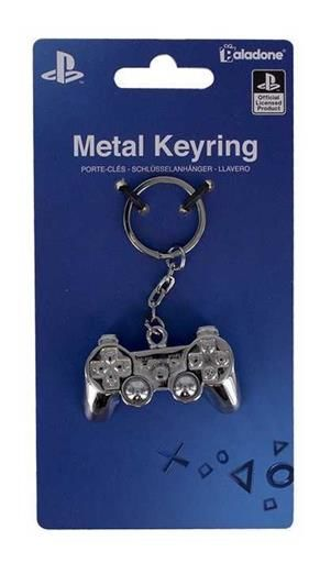 PLAYSTATION LLAVERO METALICO 3D
