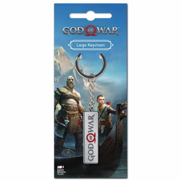 LOGO GOD OF WAR LLAVERO METAL GOD OF WAR