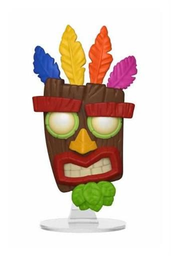 CRASH BANDICOOT FIG 9CM POP AKU AKU