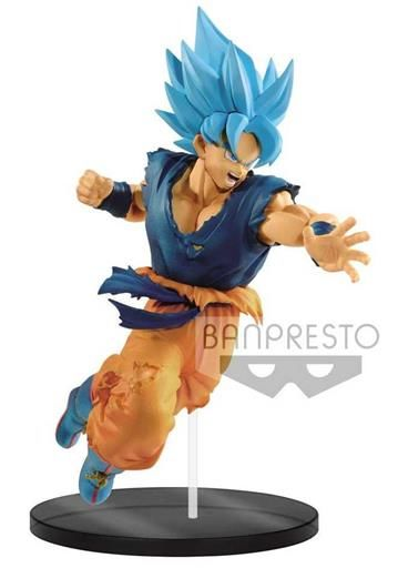 DRAGON BALL SUPER MOVIE FIG 20CM ULTIMATE SOLDIERS S.S.GOD S.S. SON GOKU