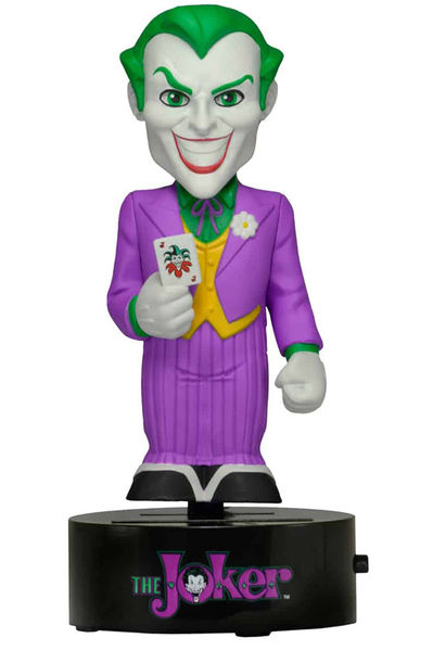 THE JOKER BODY KNOCKER BASE GIRATORIA FIGURA 15 CM UNIVERSO DC