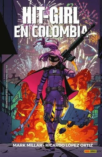 HIT-GIRL #01. EN COLOMBIA