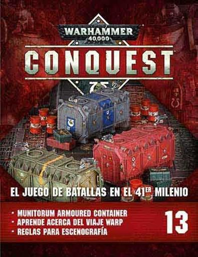 WARHAMMER 40000 CONQUEST COLECCION OFICIAL #013. MUNITORUM ARMOURED CONT.