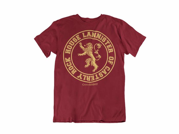 CAMISETA HOUSE LANNYSTER OF CASTERLY ROCK UNISEX TALLA XL
