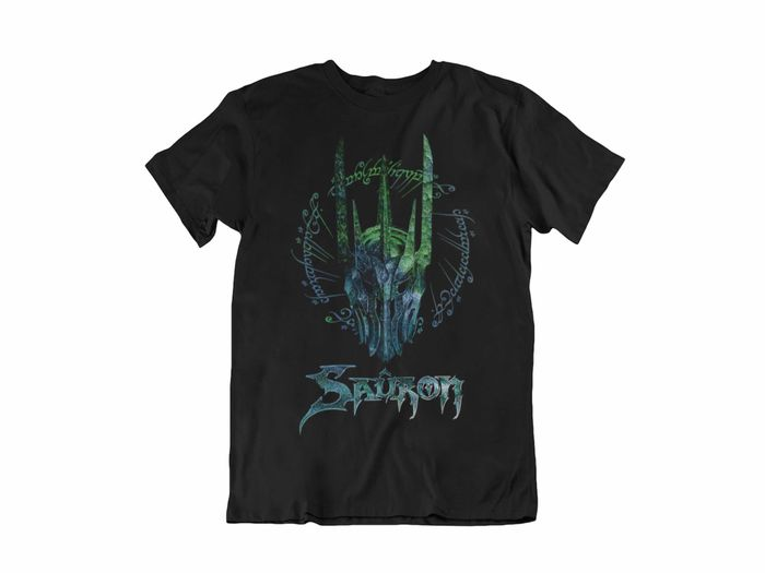 CAMISETA SAURON CASCO COLOR UNISEX TALLA M
