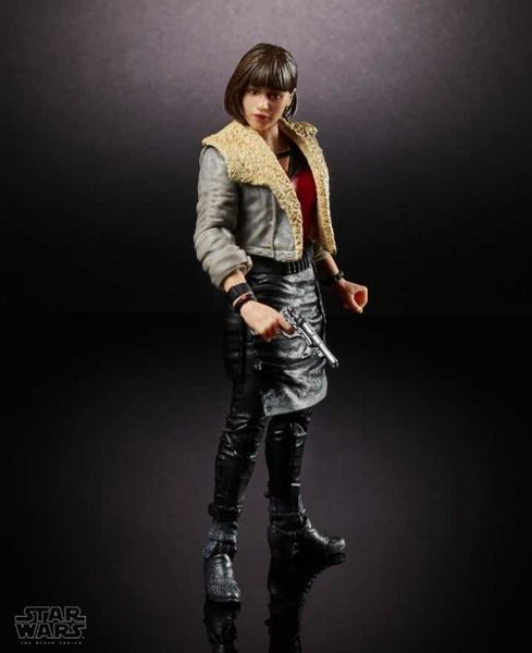 QIRA CORELLIA SM FIGURA 15 CM STAR WARS HAN SOLO MOVIE BLACK SERIES