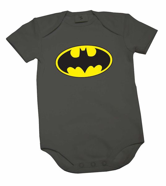 LOGO BATMAN BODY NEGRO NIÑO T-18 DC COMICS