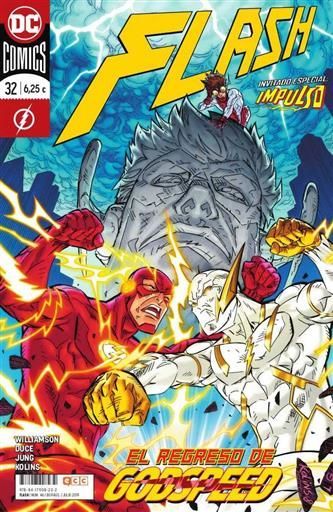FLASH #46 / #32 EL REGRESO DE GODSPEED! (ECC-GRAPA)