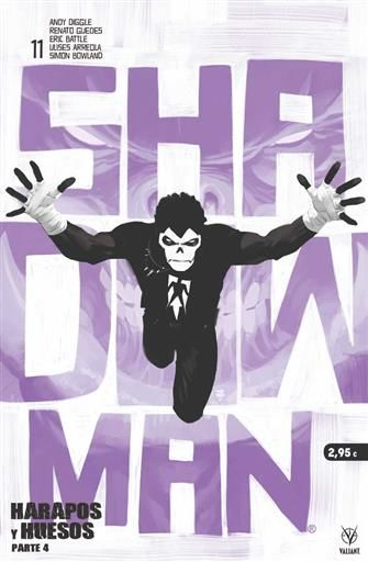 SHADOWMAN #11 (GRAPA - MEDUSA COMICS)