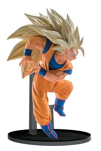 DRAGON BALL Z FIGURA 13 CM SUPER SAIYAN GOKU 3 SCULTURESBIG BUDOUKAI VOL 6