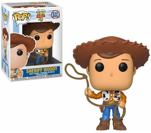 TOY STORY 4 FIG 9CM POP WOODY