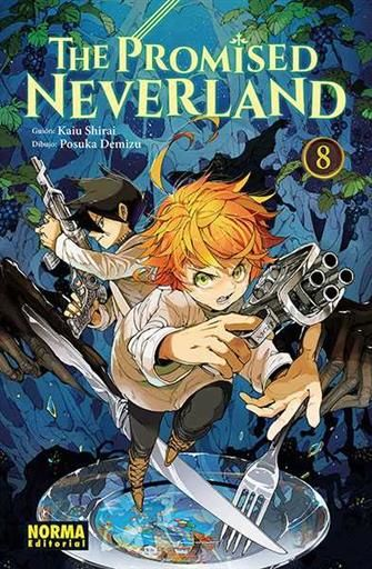 THE PROMISED NEVERLAND #08