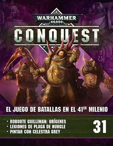 WARHAMMER 40000 CONQUEST COLECCION OFICIAL #031. DEATH GUARD GREEN