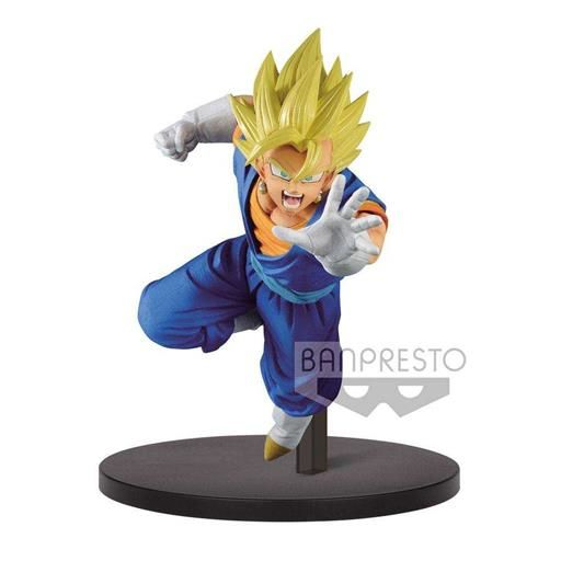 DRAGON BALL SUPER CHOSENSHIRETSUDEN ESTATUA PVC 15CM SUPER SAIYAN VEGETTO