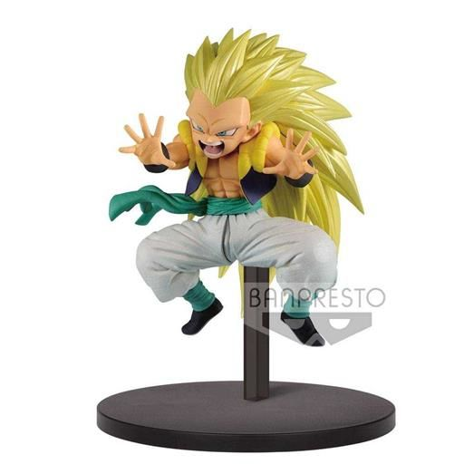 DRAGON BALL SUPER CHOSENSHIRETSUDEN ESTATUA PVC 10CM SUPER SAIYAN 3 GOTENKS