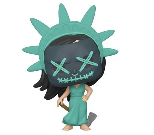 THE PURGE LA NOCHE DE LAS BESTIAS FIG 9CM POP LADY LIBERTY (ELECTION YEAR)