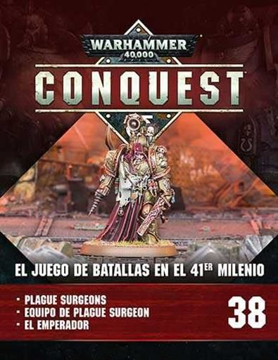 WARHAMMER 40000 CONQUEST COLECCION OFICIAL #038. PLAGUE SURGEON