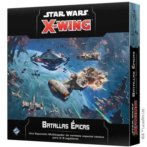 STAR WARS X-WING 2ed: BATALLAS EPICAS