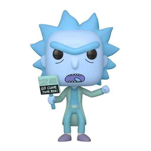 RICK Y MORTY FIG 9CM POP HOLOGRAM RICK CLONE