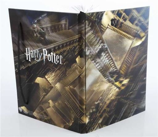 HARRY POTTER BLOCK DE NOTAS A5 3D ESCALERAS MAGICAS DE HOGWARTS