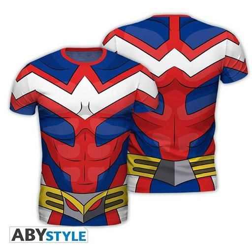 MY HERO ACADEMIA CAMISETA REPLICA ALL MIGHT S