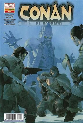 CONAN EL BARBARO #05 (GRAPA - MARVEL)