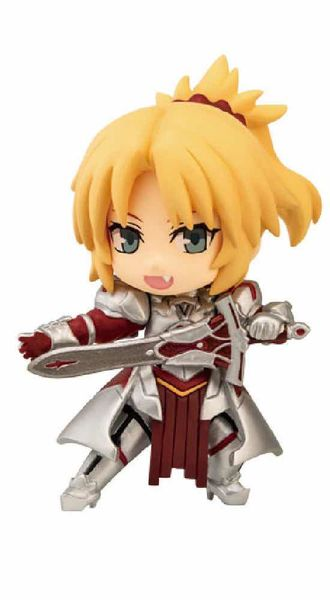 "SABER OF ""RED"" FIGURA 6.5 CM FATE APOCRYPHA COLLECTION NIITENGO"