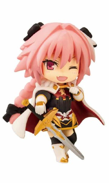 "RIDER OF ""BLACK"" FIGURA 6.5 CM FATE APOCRYPHA COLLECTION NIITENGO"