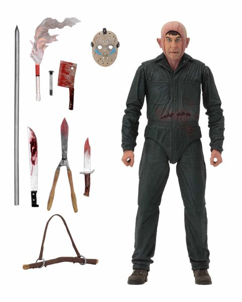ROY BURNS VIERNES 13 FIGURA 18 CM FRIDAY THE 13TH ULTIMATE PARTE 5