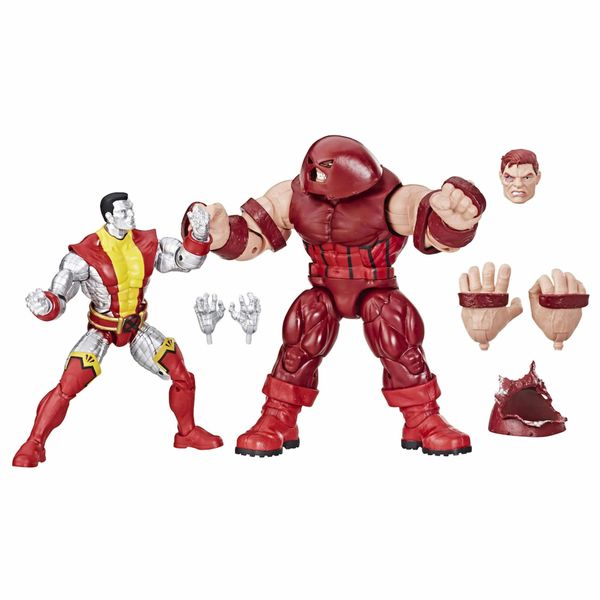 SET COLOSSUS + JUGGERNAUT FIGURA 16 CM MARVEL LEGENDS 80TH ANNIVERSARY E6349E48