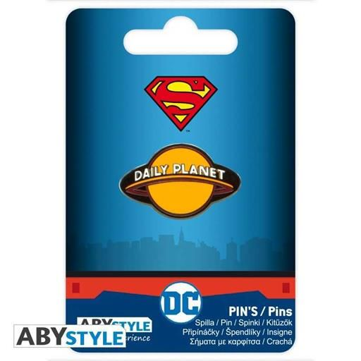 SUPERMAN PIN DAILY PLANET DC COMICS