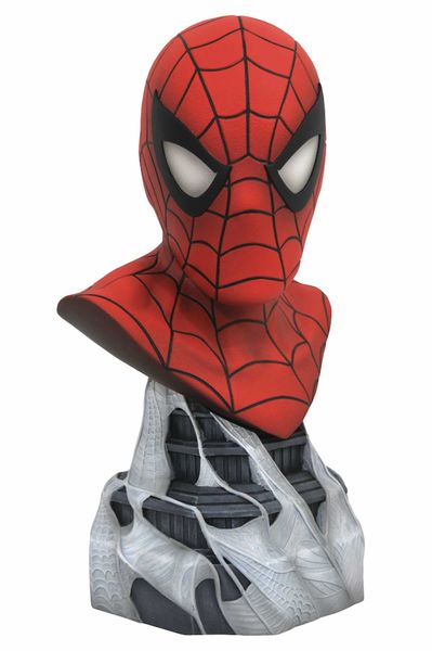 SPIDER-MAN BUSTO RESINA 25 CM 1/2 SCALE LEGENDS IN 3D MARVEL COMICS