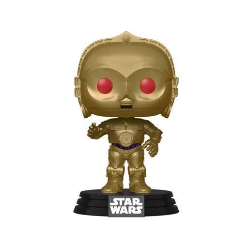 STAR WARS EP.9 FIG 9CM POP C3PO RED EYES